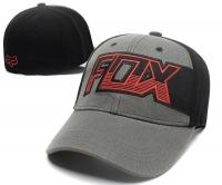 Бейсболка FOX черно-серая с темно-Серой надписью FOX