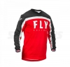 Джерси M FLY RACING F-16 красно/чёрно/белая (2020)