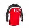 Джерси L FLY RACING F-16 красно/чёрно/белая (2020)