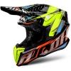 Шлем  Airoh Twist IRON Черно-оранж-цветной р.XS