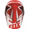 Козырек Fox Racing V1 р-р 2XS\S бело\красн