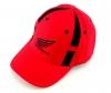 Бейсболка HONDA красно-черная с черным ЛОГО и надписью