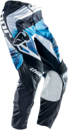 Мотоштаны 28 Thоr S14 PHASE SWIPE BL сине-бело-черные р.28