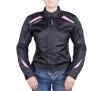 Мотокуртка AGVSPORT Aery женская черно-розовая р.S