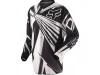 Джерси M Fox HC Undertow черно-белая р.М