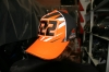 Бейсболка KTM 222 Кэроли Оранж/ЧерноБелая с боковы