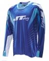 Джерси L JT Racing HYPER RAZOR синяя р.L