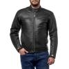 Куртка кожаная MOTEQ Atlas черн р.52-54(2XL)