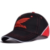 Бейсболка HONDA черно-красная с красным ЛОГО и надписью