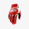 Перчатки 100% AIRMATIC красные р. M(9)