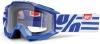 Очки 100% Accuri JR Nimitz./ Clear Lens сини