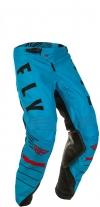 Мото штаны FLY RACING KINETIC K120 синие/черные/красные р. 34