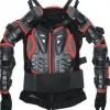 Защита (черепаха) Реплика  FOX Titan Sport Jacket черно-красная р-р М