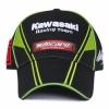 Бейсболка Kawasaki Moto Gp Ninja 76 черно-зеленая