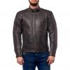 Куртка кожаная MOTEQ Gunner черно-коричневая р.50-52(XL)