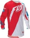 Джерси FLY RACING Evolution 2.0 красно-белая р.M