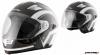 Шлем (интеграл-трансформер) MICHIRU MI 190 B&W (с очками) р-р XS