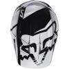 Козырек Fox Racing V1 бело-черный р. M/L