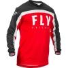 Джерси FLY RACING F-16 красная/чёрная/белая (2020) р. XL