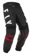 Мото штаны FLY RACING KINETIC K120 черные/белые/красные (2020) 32