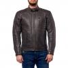 Куртка кожаная MOTEQ Gunner черно-коричневая р.46-48(M)