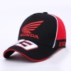 Бейсболка HONDA  черно\красная с красным Лого 93